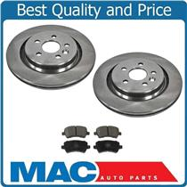 08-16 XC70 (2) VENTED Rear Rotors 302MM  Disc Brake Rotor, Rear Ceramic Pads