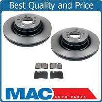 (2) Frt Brake Disc Rotors Pads 102.12630 34337 fits 06-12 Land Rover Range Rover