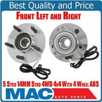 Wheel Bearing Hub Assembly 2 Frt 515029 Fits 00-03 F150 4x4 4 Wheel ABS Brakes