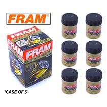 6-PACK - FRAM Ultra Synthetic Oil Filter - Top of the Line - FRAM's Best XG9837