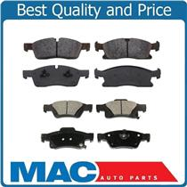 11-15 Grand Cherokee 330mm 11-14 Durango F  R Dash4 Ceramic Brake Pads CD1455 98