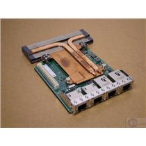 Dell Intel X540 Base-T2 Quad Port 2 10GB 2 1GB RJ-45 Network Daughter Card 98493