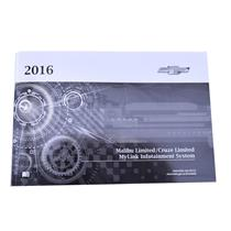 New 2016 Chevy Cruze Limited / Malibu Limited Owner's MyLink Manual 23197785