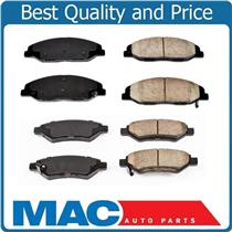 08-14 CTS Ceramic Pads F & R  Brake Pads 1332 37 NOTE JES BRAKES 12.4 INCH ROTOR