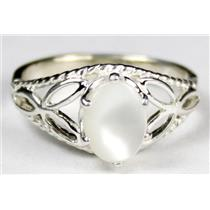 SR137, Mother Of Pearl, 925 Sterling Silver Ring