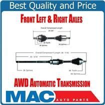 (2) 100% New Front Axles for 02-09 S60 2.5L TURBO All Wheel Drive Automatic