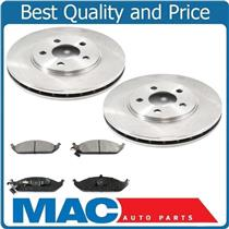 (2) 5362 Front Disc Brake Rotor With Ceramic Pads 96-2000 Sebring Convertible