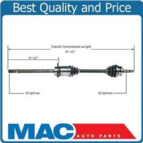 (1) 100% All New NI-8212 CV Axle Shaft - Front Right Fits Quest 04-06 4 Speed