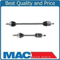 (2) 100% New CV Drive Axle Shaft For 90-1993 Accord With Automatic Transmission