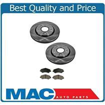 (2) 302MM 11 7/8 Inch 53052 Disc Brake Rotors Front & CD1273 Ceramic Pads