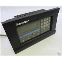Nematron IWS 117 Industrial Workstation TESTED TO POWER ON HAS DARK LED SCREEN