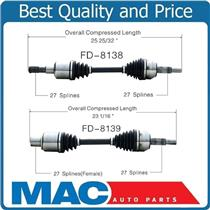 (2) 100% Brand New Front D & P Side CV Axle Explorer 06-10 Mountaineer 06-10