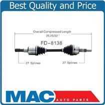 (1) 100% All New CV Drive Axle Shaft Fits Ford Explorer 06-10 D/S Front
