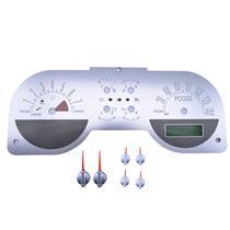 *NEW* 2005-2009 Foose Mustang Speedometer Gauge Cluster Face Overlay Aluminum
