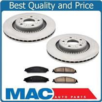 (2) Front Brake Rotors Ceramic Pads Fits For 08-09 Taurus & Taurus X Sable 3.5L