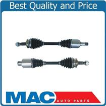 (2) 100% New Complete CV Axle Shafts for 12-14 Sonic 1.4L 6 Speed Manual Trans