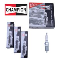 *NEW* Set of  4 Champion Spark Plugs Double Platinum Power 7408