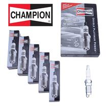 *NEW* Set of  6 Champion Spark Plugs Double Platinum Power 7407