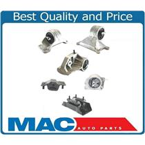 00-03 Durango 4.7L 4x4 6Pc Motor Mount Kit A5199 A5303 A3005 A3006 A2992 A2858
