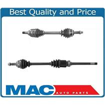 (2) NEW FRONT CV Drive Axle Shafts For 03-06 All Wheel Drive Matrix Automatic