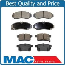 100% New Dash-4 Front and Rear Ceramic Brake Pads for Acura TSX 2011-2014