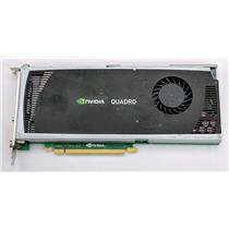 Dell NVIDIA Quadro 4000 DP/N 038XNM Graphics Card DVI & Display Port 2GB