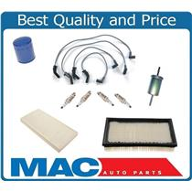 Air Filter Spark Plugs Wires Gas Cabin Filter for Ford FOCUS Vin P 00-04 (SOHC)