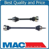 (2) 100% All New Front Complete 100MM 4 Inch CV Drive Axle Shafts for Volkswagen