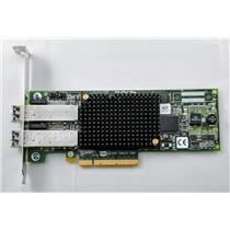 IBM / Emulex LPE12002 8GB Dual Port Fibre Channel HBA PCI-e Refurbished 10N9824