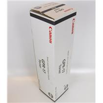 NEW Genuine Canon GPR-17 Black Toner Cartridge 0279B003[AA1
