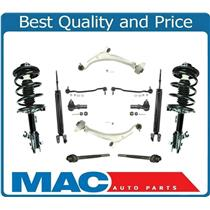 New Front Struts Shocks Lower Control Arms 12Pc Kit for Nissan Altima 2.5L 02-06