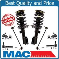 New Front Struts Ball Joints Tie Rods for Buick Terraza Front Wheel Drive 05-07