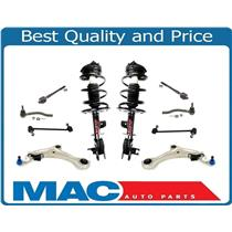 New Control Arm Ball Joint Coil Spring Struts Tie Rods Sway For 09-14 Murano 10p
