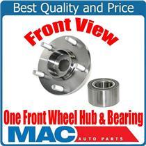 (1) 100% New Front Wheel Hub & Bearing 63090K for Hyundai Santa Fe 01-06
