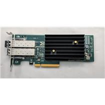 Brocade 1020 BR-1020 Dual Port 10Gb PCI-E Adapter Low Profile Bracket w/ SFPs