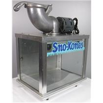 Sno Kone Sno-Konette Ice Shaver Machine TESTED & WORKING