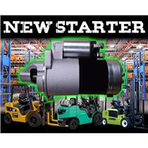 *NEW in Box* Forklift Starter Mitsubishi Clark Caterpillar Lift Trucks 17176