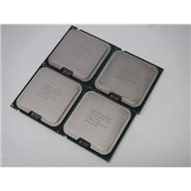 Lot of 4 Intel Core 2 DUO E8400 3.00GHz Dual-Core Processor SLAPL Socket 775