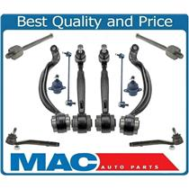 UPP CONTROL ARMS BALL JOINTS LINKS TIE RODS For 03-11 RANGE ROVER 12Pcs