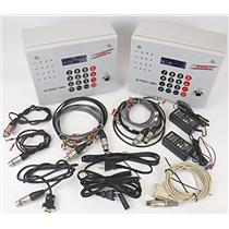 Lot of 2 TDC Hi-Trac EMU Event Monitoring Units