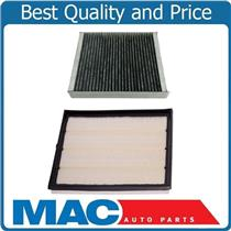 100% New 2pc Kit Engine Air Filter & Cabin Air Filter for Cadillac SRX 2010-2016