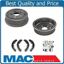(2) 200MM 8 Inch GM Cars Rear 80008 Brake Drum -B553 Shoes W Springs H7281