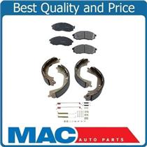 00-04 Xterra 03 04 Frontier 4WD Ceramic Pads & Brake Shoes CD830 BS631 17328