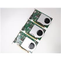 Lot of 3 Dell Nvidia GeForce GT330 Video Card PCI-Express DisplayPort DVI