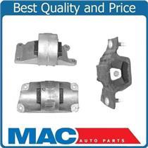 00-04 Dakota 2 W/D Engine Motor Mount & Transmission 3Pc Kit A5199 A5303 A2992