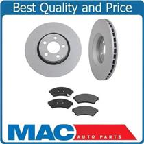 (2) Brake Rotor Front 55124 With Ceramic Pads 5 Stud Fits For 11-15 Impala