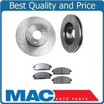 (2) Front  Brake Disc Rotors & Xtra Duty Ceramic Pads Fits 97-01 Infiniti Q45