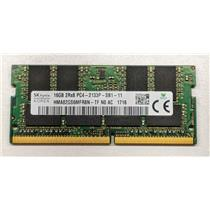 Hynix HMA82GS6MFR8N-TF 16GB PC4-17000 DDR4-2133 non-ECC Unbuffered Laptop RAM