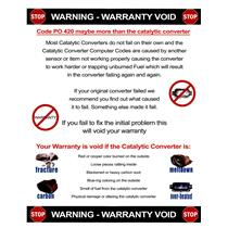 Y Pipe Catalytic Converter Fits for 82 Subaru Sedan & Wagon 1.8L