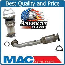 (2) Upper & Lower Catalytic Converters Made in USA for Honda CRV 2.4L 2010-2011